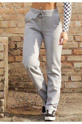 calca feminina jogger hiatto moletom peluciada mescla 05f0753 3