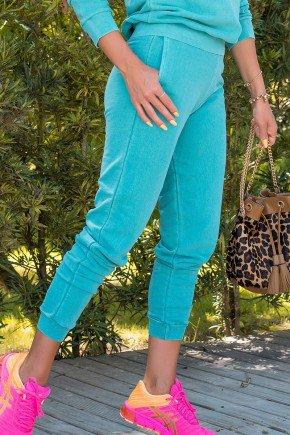 05f0755 007 calca feminina jogger hiatto moletom estonado verde 3