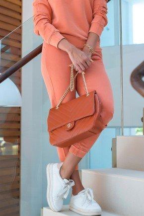 05f0755 038 calca feminina jogger hiatto moletom estonado laranja telha conjunto estonado 1