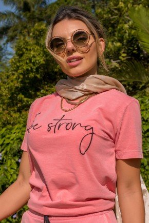 02f0085 017 6 camiseta feminina hiatto estonada be strong rosa
