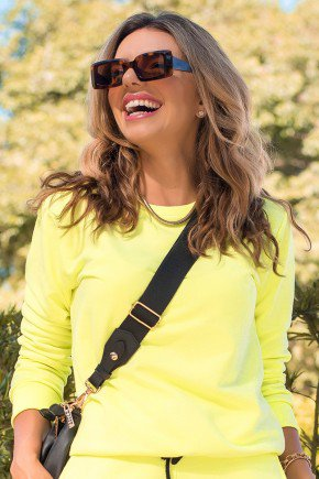 11f0007 066 blusa de moletom feminino neon basico amarelo neon 1