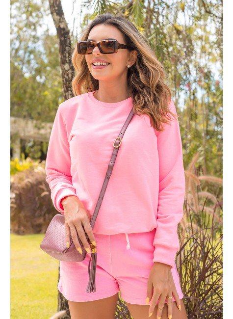 11f0007 068 blusa de moletom feminino neon basico rosa neon 2