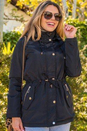 12f0001 002 casaco feminino hiatto nylon peluciado preto 4