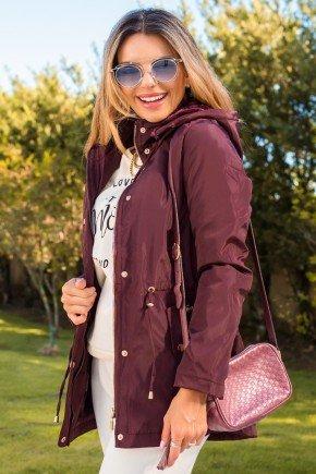 12f0001 casaco feminino hiatto nylon peluciado bordo 3