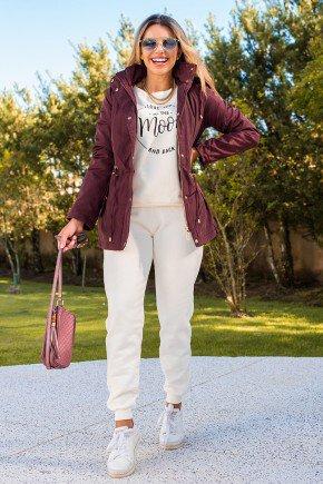 12f0001 casaco feminino hiatto nylon peluciado bordo 4