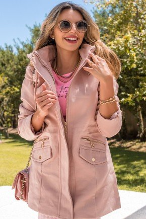 12f0003 14 casaco feminino hiatto la batida rosa 3