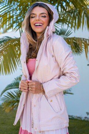 12f0001 14 casaco feminino hiatto nylon peluciado rosa 5