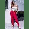 05f0753 004 calca feminina jogger hiatto moletom peluciada vermelha 2