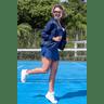 10f0001 06 jaqueta corta vento feminina lisa com capuz impermeavel azul marinho 7
