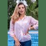 10f0001 14 jaqueta corta vento feminina lisa com capuz impermeavel rose 2