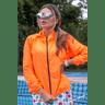 10f0001 60 jaqueta corta vento feminina lisa com capuz impermeavel laranja 1