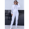 blusa moletom peluciado feminina hiatto basica branco 2