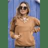 11f0030 blusa moletom peluciado feminina hiatto basica ocre 2