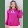 11f0030 23 blusa moletom peluciada com capuz feminina hiatto basica pink 2