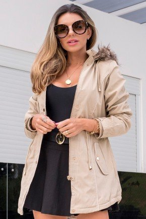 12f0002 casaco feminino hiatto sarja bege 2