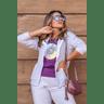15f0004 54 conjunto de plush feminino calca jogger jaqueta com capuz e bolso lilas 2