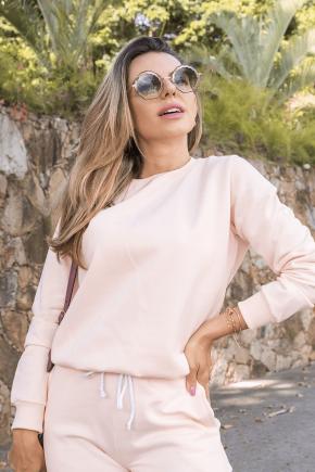 11f0033 15 blusa de moletom peluciado feminino hiatto basica salmao 1