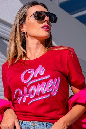 02f0101 04 camiseta feminina hiatto oh honey bordo 5