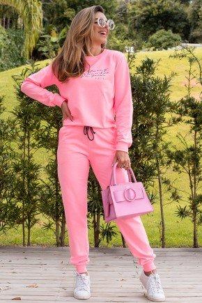 11f0034 68 blusa de moletom feminino neon live neon rosa 2