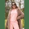 15f1009 67 conjunto blusa de moletinho feminino neon basico calca feminina jogger hiatto moletinho neon laranja 2
