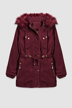 12f0004 casaco feminino hiatto sarja bordo 1