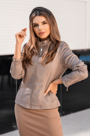 12f0006 10 jaqueta feminina hiatto bege 1