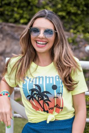 02f0110 66 camiseta feminina summer vocation amarelo neon 3