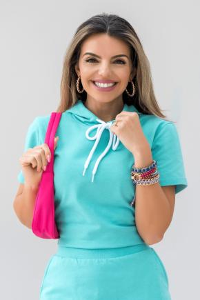 11f0040 blusa de moletinho lisa com capuz verde claro 3