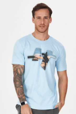 02m0302 camiseta masculina surf hiatto azul claro 1
