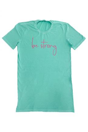 18f0024 vestido t shirt estonado be strong hiatto verde 2