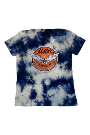 02f0142 camiseta feminina marmorizada motor hiatto azul 2
