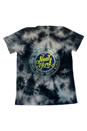 02f0144 camiseta feminina marmorizada new york city hiatto preto 1